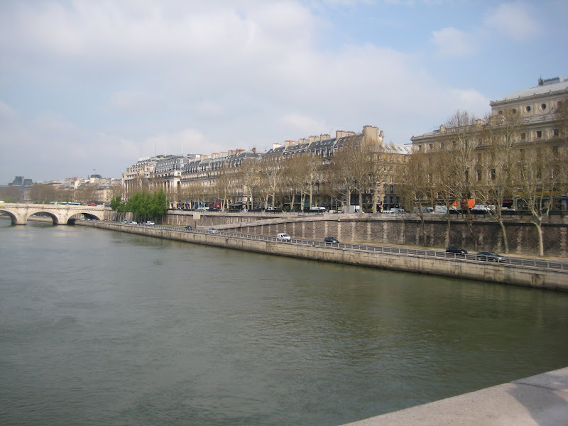 Photo: Crossing the Seine
