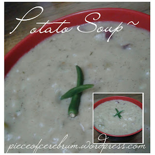 Potato Soup ~ Simple yet tasty!