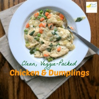 Clean, Veggie-Packed Chicken and Dumplings.
