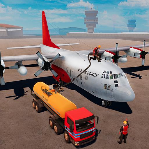Airplane Oil Tanker Truck Transporter Game (game)