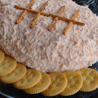 Crabby Football Cheese Spread