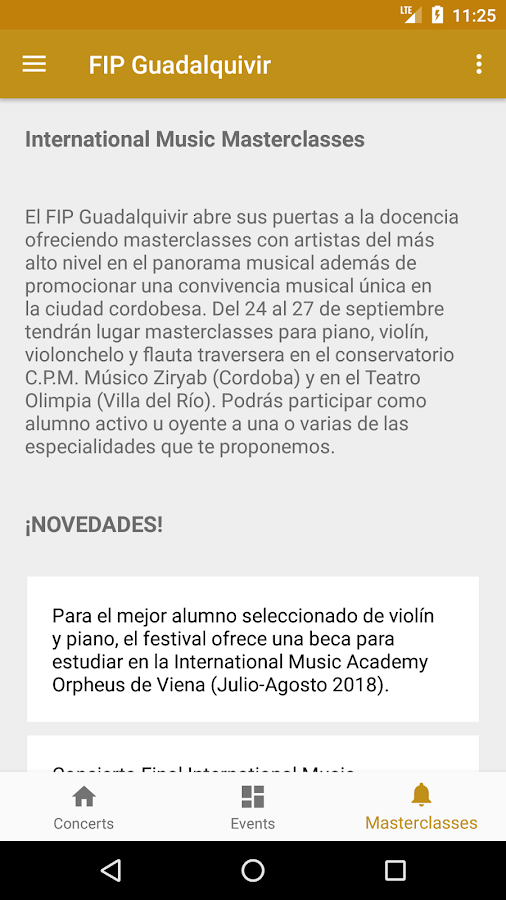 FIP Guadalquivir- screenshot