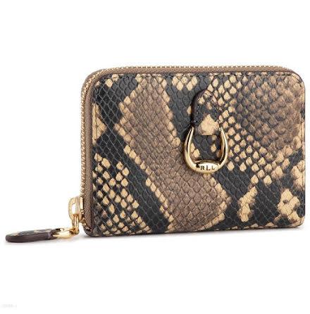 Bennington: Small Wallet, Snake Emboss