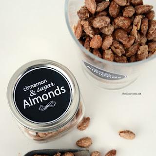 Cinnamon and Sugar Almonds