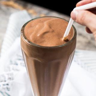 Breakfast Paleo & Keto Bulletproof Chocolate Milkshake.