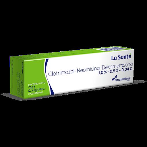 Clotrimazol+Neomicina+Dexametasona Crema La Sante