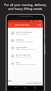 Dolly: Find Movers, Delivery & More On-Demand 3.94.0 Mod APK (Unlock All) 3