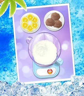 Summer Milkshake Maker Game- screenshot thumbnail