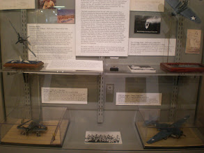 Photo: the Battle of Midway exhibit continued