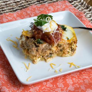 Crock Pot Mexican Breakfast Casserole {Low Carb & Gluten Free}.