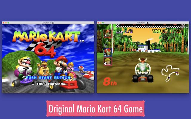 Super Mario Kart 64 N64 Simulator