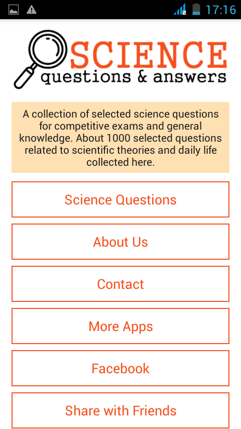 Image result for science questions and answers app