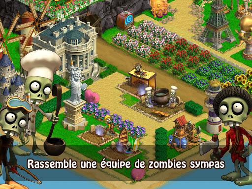 Zombie Castaways fond d'écran 1