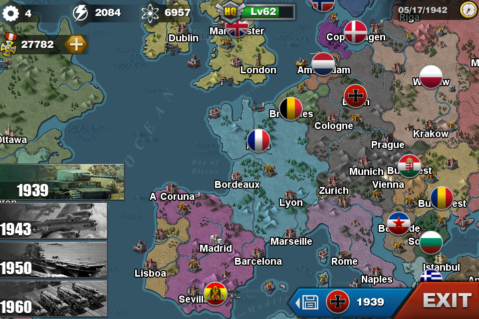 World conqueror 3 android apps on google play world conqueror 3 screenshot gumiabroncs Images