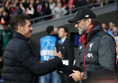 """Simeone verdedigt zich voor kritiek op speelwijze, en hekelt het systeem: """"Liverpool in het nadeel"""""""