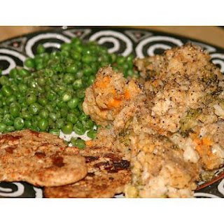 Chicken, Broccoli & Rice Casserole.