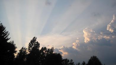 Photo: Day 2 - Sunset in Geneva