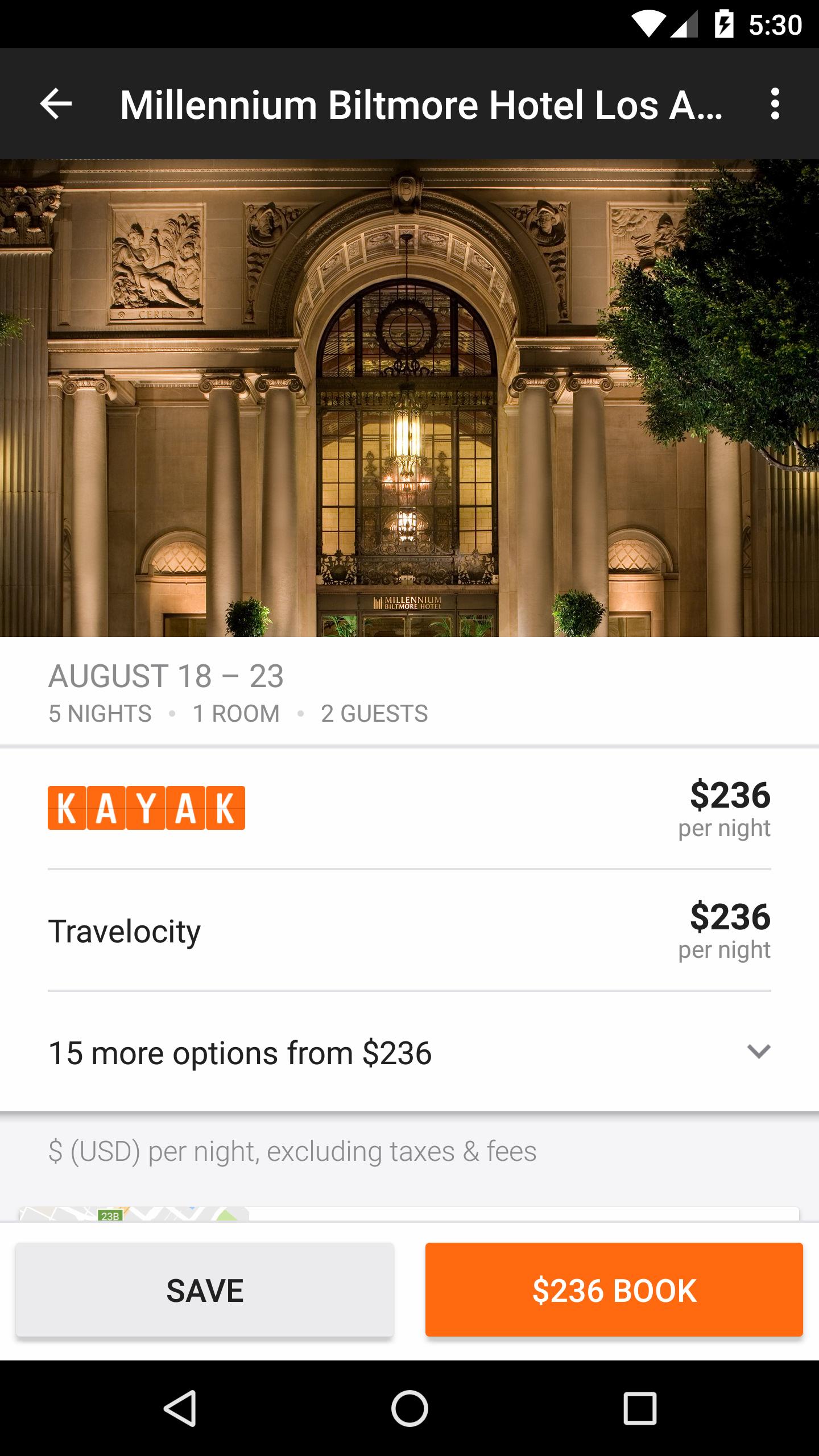 KAYAK Flights, Hotels & Cars screenshot #4