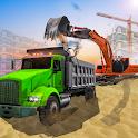 Construction Simulator 3D - Excavator Truck Games icon