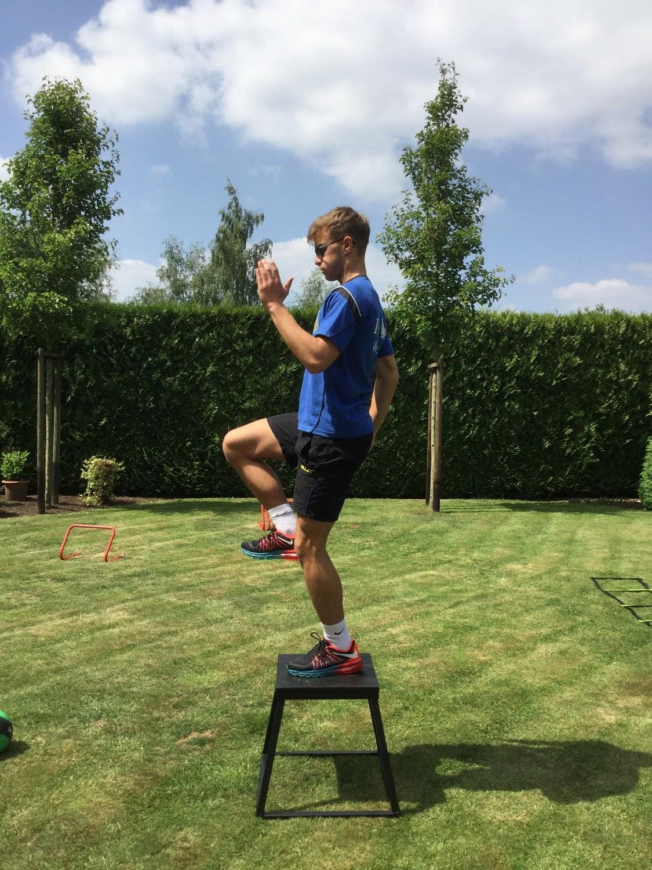 In de kijker - Tarik Tarcan tijdens de outdoor training