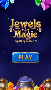 Jewels Magic: Mystery Match3 Screenshot