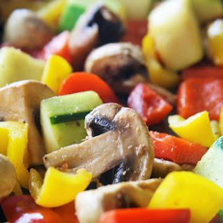 Easy Roasted Vegetables {Meatless Monday}