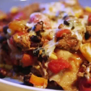 Weight Watchers Mexican Casserole.