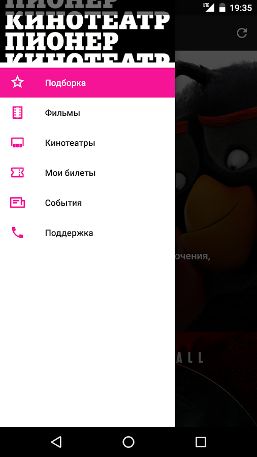 Кинотеатр Пионер- screenshot