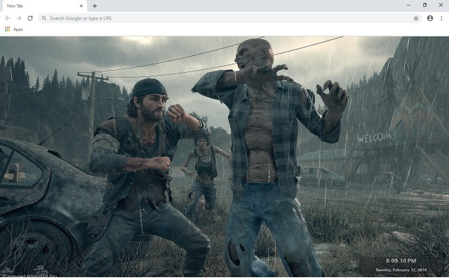 Days Gone New Tab & Wallpapers Collection