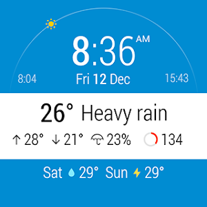 InstaWeather for Android Wear screenshot 10