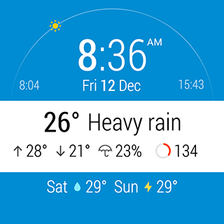 InstaWeather for Android Wear Android 12