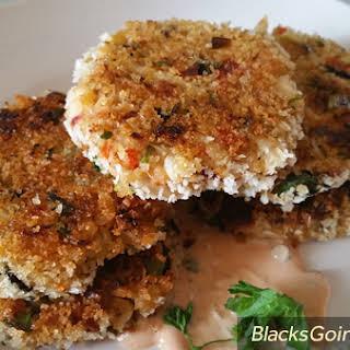 Vegan Crab Cakes.