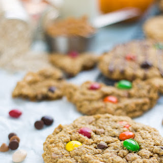 Pumpkin Spice Monster Cookies Recipe