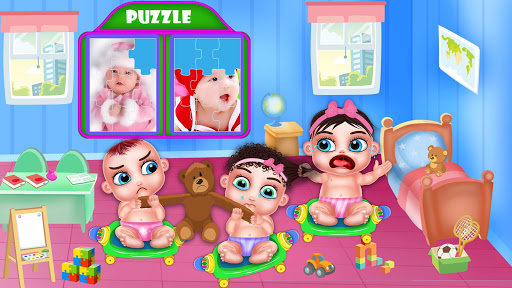 Triplet Baby Daycare Newborn Babysitting android2mod screenshots 15