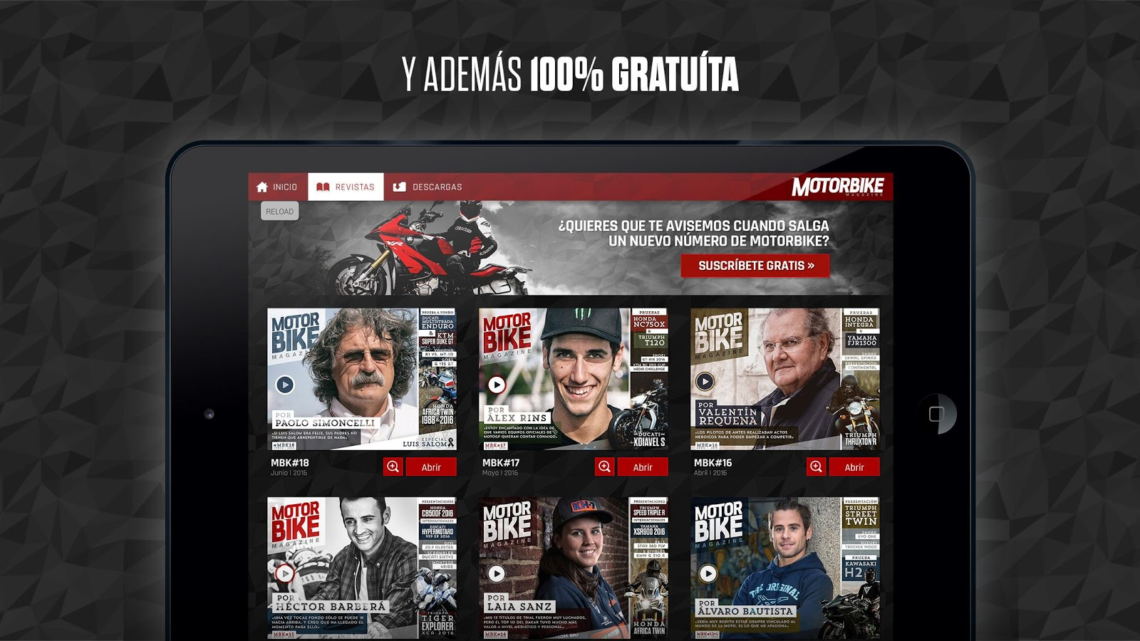 Motorbike Magazine- screenshot