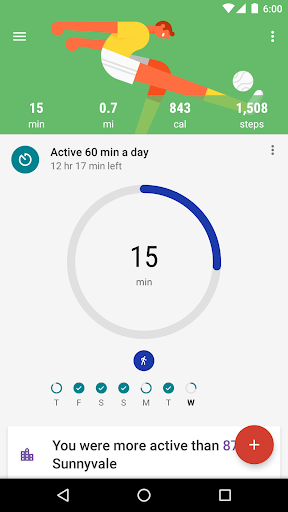 Google Fit - Fitness Tracking  screenshots 1