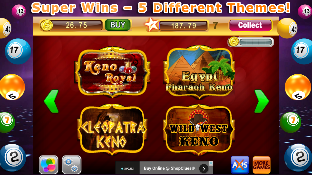 Play Fortune Keno Arcade Game Online at Casino.com Canada