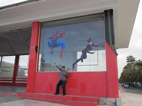 Photo: Supermens, katvumens un zebromens