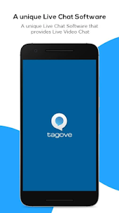 Tagove - Live chat software- screenshot thumbnail