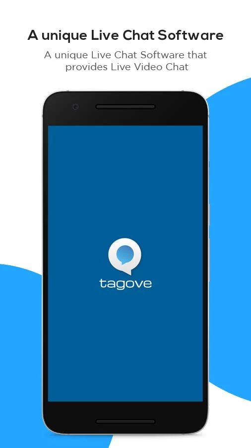 Tagove - Live chat software- screenshot