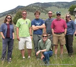Photo: The team
