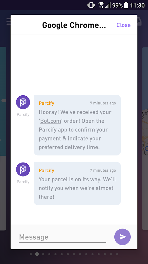Parcify- screenshot