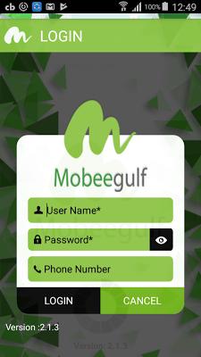 Mobeegulf - screenshot