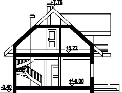 Olesno 51 dws - Przekrój