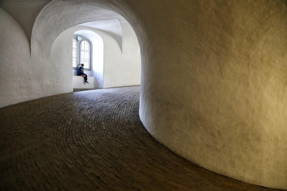 Kopenhaga, wejście na wieżęRundetårn