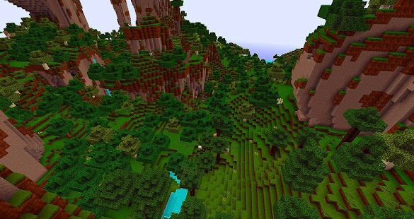World Craft Exploration Screenshot