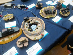 Photo: 133 Some of the models displayed by the Japanese Modellers Group .