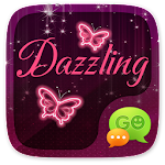 GO SMS PRO DAZZLING THEME 1.0 Apk