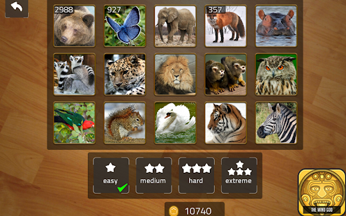 Sliding Blocks Wild Animals- screenshot thumbnail
