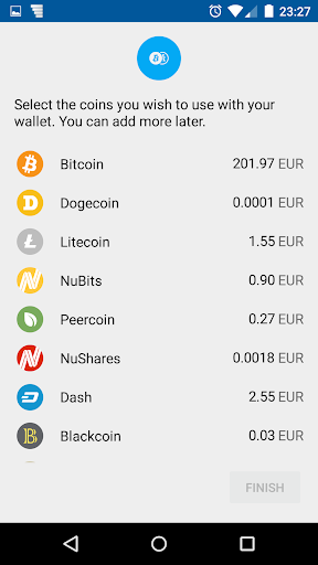 Coinomi Wallet :: Bitcoin Ethereum Altcoins Tokens screenshot 6